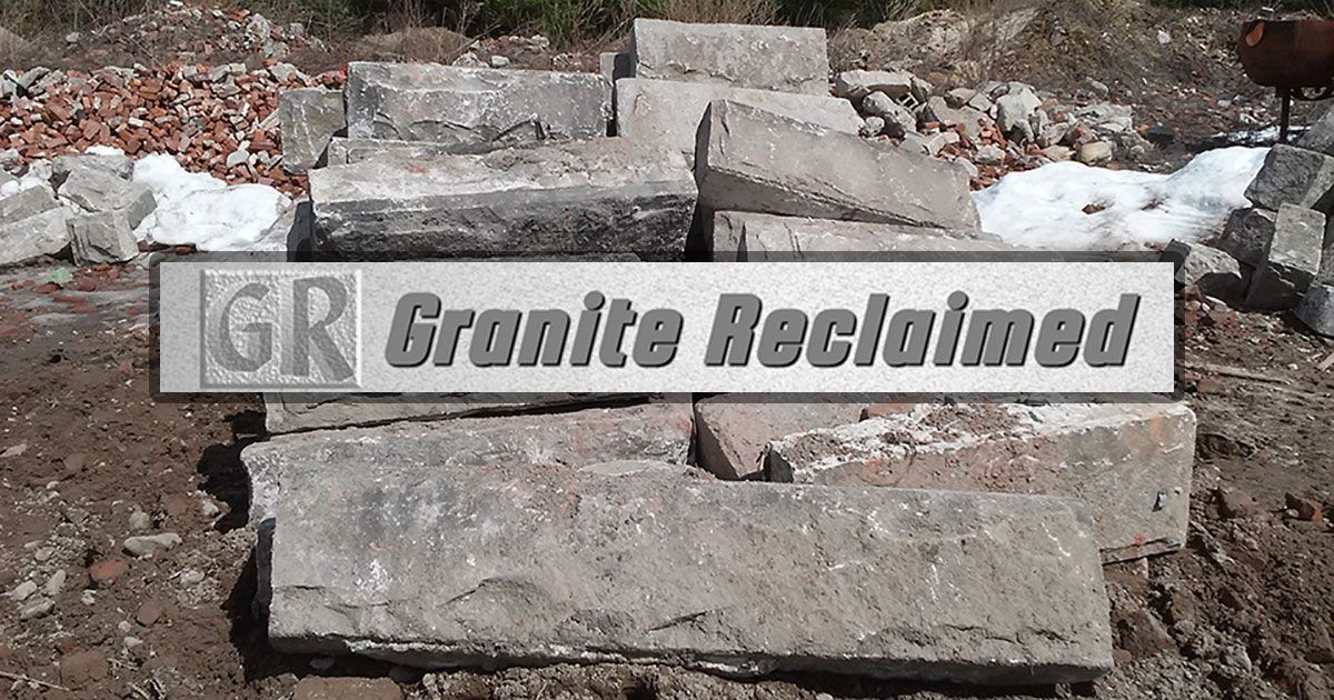 Granite Reclaimed | Recycled Granite, Curbing, Wall Stone