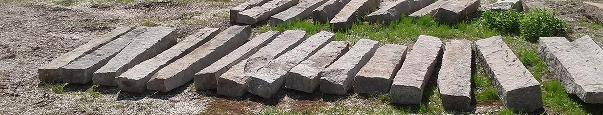 Granite Reclaimed | Recycled Granite, Curbing, Wall Stone